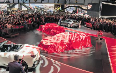 Frühlingserwachen: Auto-Neuheiten in Genf