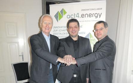 Drei Energie-Aktivisten
