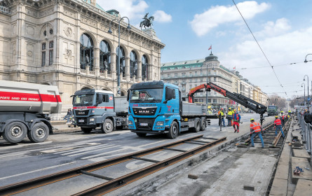 voestalpine liefert für die Straßenbahn