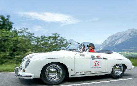 Rasanter Chronograph zur Oldtimer-Rallye