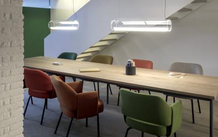 Ein Laufsteg für's Licht in Wien-Neubau