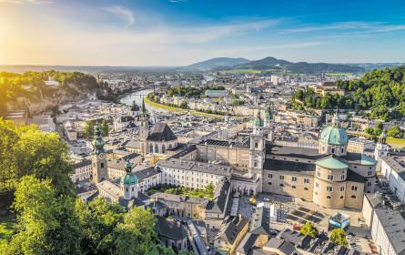 Beim Eigenkapital ist Salzburg die Mitte