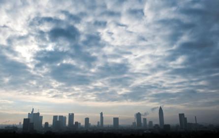 Dunkle Wolken über der Bankenlandschaft