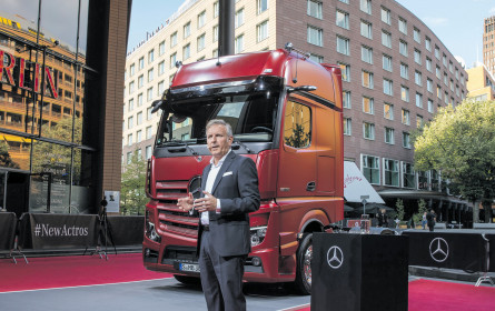 Actros new: Weltpremiere
