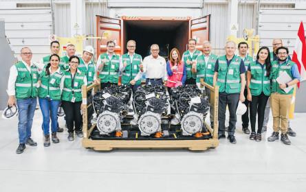 Motoren auf Weltreise