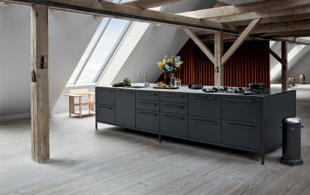Eine Modulküche ohne Schnickschnack
