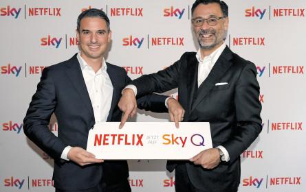 Netflix jetzt auf Sky Q