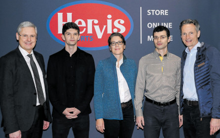 Hervis hat sich die Start-ups angelacht