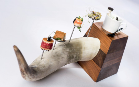 Feine Küche in karger Bergwelt