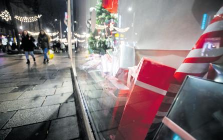 Frohe Kunde aus dem Weihnachtsgeschäft