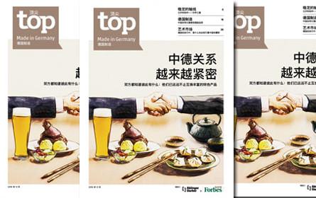 """Tiroler Verlag gestaltet erstes Deutschland-Special in """"Forbes China"""""""