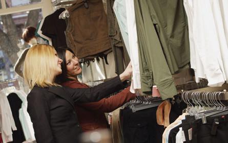 Stationärer Modehandel in Deutschland schrumpfte weiter