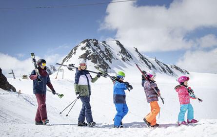 Perfekte Schneelage für Intersport Skitag