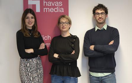 Neues Management-Trio bei Havas Media Austria