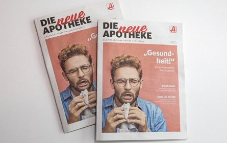 Target Group gestaltet das offizielle Magazin für Tiroler Apotheken
