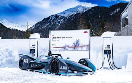 Elektro-Limousinen und Gen2 in Davos