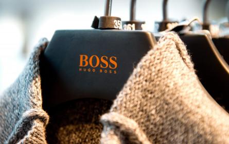 Hugo Boss kommt mit gutem Weihnachtsgeschäft wieder in Fahrt