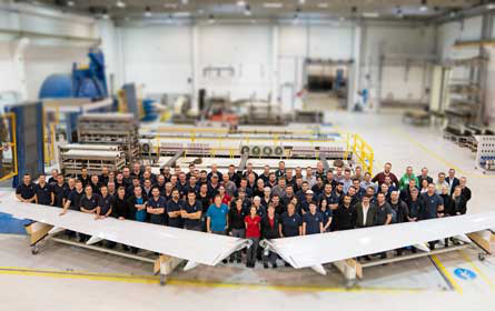 FACC liefert 1.000stes Shipset Landeklappen für Airbus A321