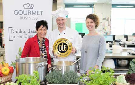 DLG-Auszeichnung 2019: 4 x Gold für Gourmet-Speisen