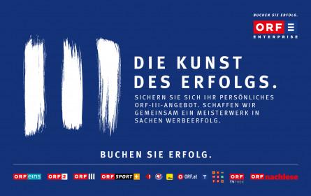 Unschlagbar günstige Werbewirkung in ORF III
