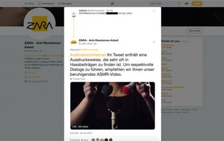 Künstliche Intelligenz reagiert auf Hasspostings