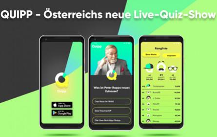 "ProSiebenSat.1 Puls 4: Peter Rapp ist neuer ""Quipp-Master"""