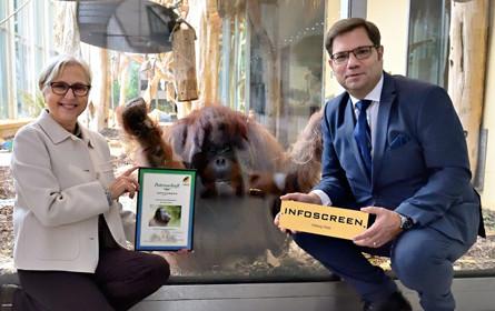 Tiergarten belohnt Partnerschaft mit Patenschaft