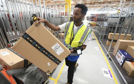 Amazon-Verteilzentrum in Großebersdorf offiziell eröffnet