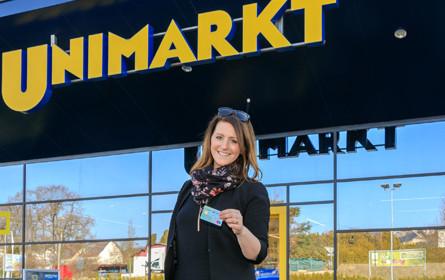 """Unimarkt bietet bequemen """"Bargeld Service"""" an der Supermarktkassa"""
