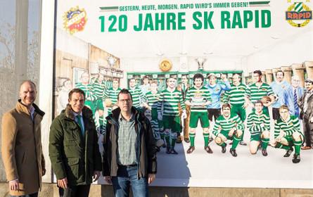 Rapid Wien: Neue OOH-Kampagne zum Vereinsjubiläum