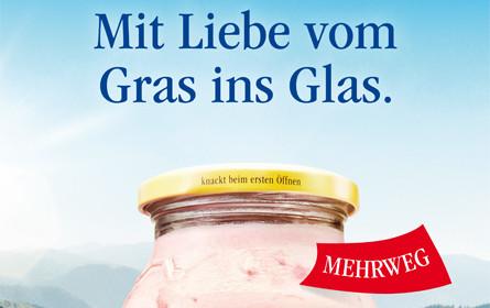 Landliebe-Qualität kommt vom Gras ins Glas