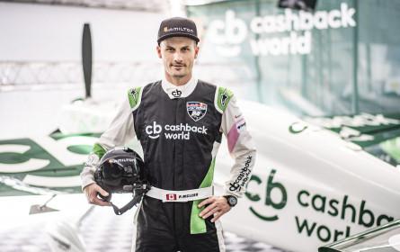Cashback World ist offizieller Team-Partner von Pete McLeod