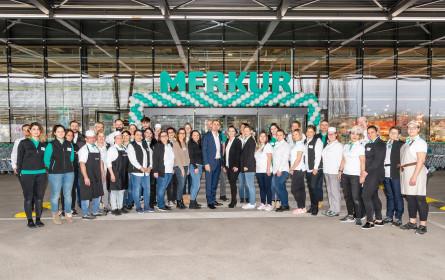 Merkur Markt in Leopoldsdorf erstrahlt in neuem Glanz