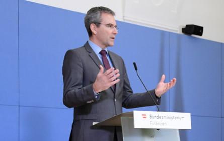 """Löger hofft auf """"Minimalversion"""" zu EU-Digitalsteuer"""