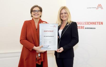 APA als österreichischer Leitbetrieb zertifiziert