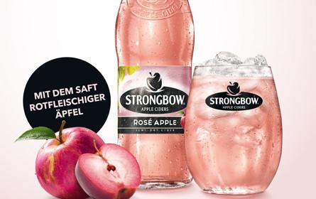 Wirz erfrischt mit Strongbow Cider Rosé Apple