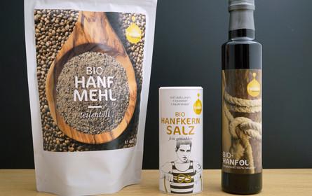 Fandler Hanf-Trio zu 100% aus Österreich