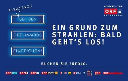 ORF-AWARDS: Noch leichter einen AWARD auf der Bühne abholen