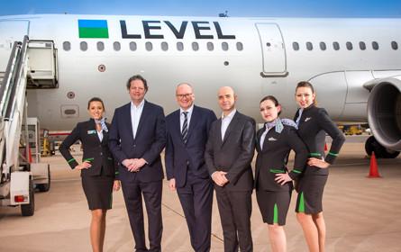 Startschuss für Fluglinie Level