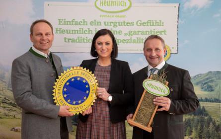 Schaf- und Ziegen-Heumilch erhält EU-Gütesiegel g.t.S.
