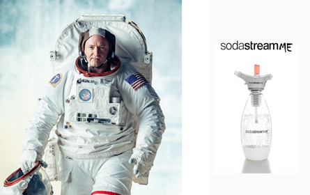US-Astronaut Scott Kelly bringt SodaStreamMe auf den Markt