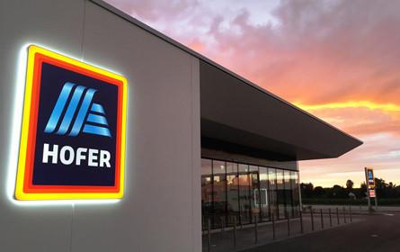 Marktanteil von Hofer stagniert - Umsatzplus auf 4,2 Mrd. Euro