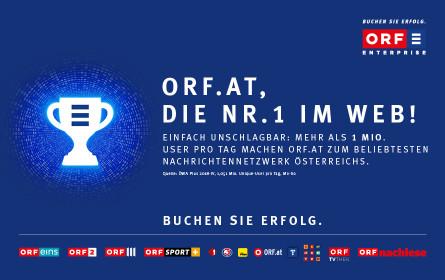 Rekordwerte für das ORF.at-Network