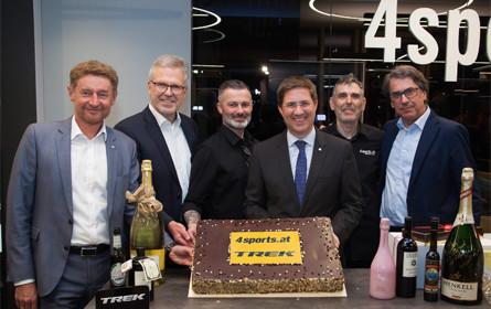 Grand-Opening von 4sports am neuen Standort in Wels