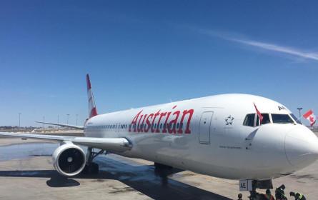 Austrian Airlines-Erstflug gut in Montreal gelandet