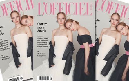 """Luxusmagazin """"L'Officiel"""" startet in Österreich"""