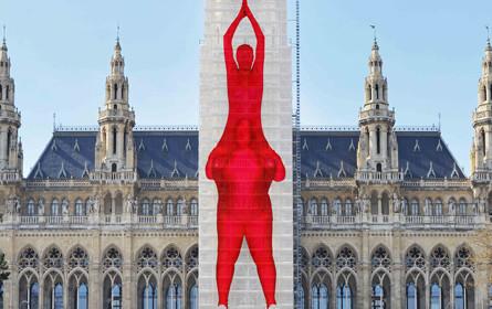 Gewista Partner bei Österreichs größter Kunstinstallation
