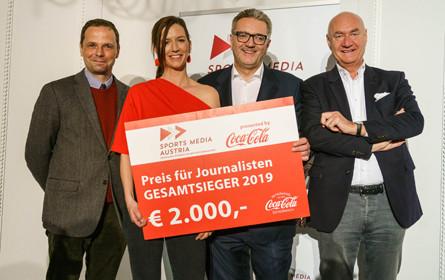 Sports Media Austria Preis 2019 vergeben