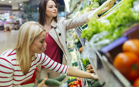 Lebensmittel dominieren Einzelhandel