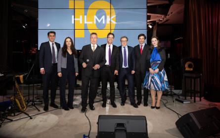 Zehn Jahre HLMK-Rechtsanwälte feierte in Wien